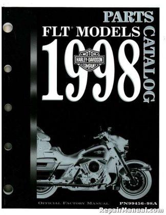 Official 1998 Harley Davidson FLT Parts Manual