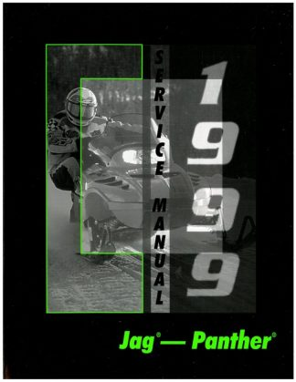Official 1999 Arctic Cat Jag 340 Deluxe Jag 440 440 Deluxe Panther 340 440 Snowmobile Factory Service Manual