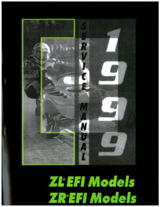 Official 1999 Arctic Cat ZL 500 EFI ZL 600 EFI ZR 500 EFI 500 EFI LE ZR 600 EFI 600 EFI LE Snowmobile Service Manual