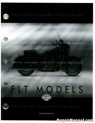 Official 1999 Harley Davidson FLT Parts Manual