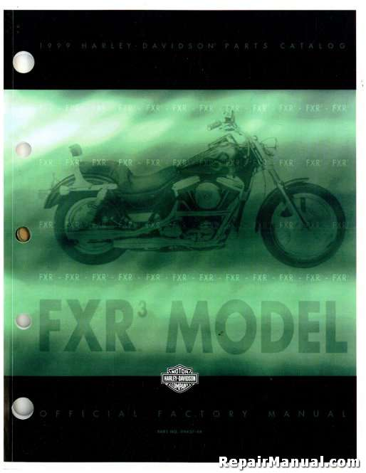 1999 harley davidson fxr3 parts manual rh repairmanual com 1992 FXR FXR3 Sound