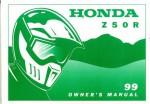 Official 1999 Honda Z50R Owners Manual