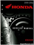 Official 2000-2002 Honda XR200R Factory Service Manual