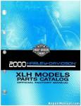 Used 2000 Harley Davidson XLH Parts Manual