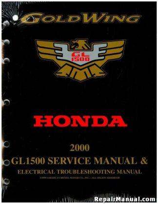 honda gl1200 service manual