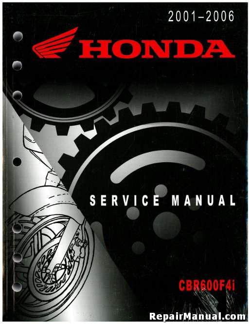 2001 2006 honda cbr600f4i motorcycle service manual rh repairmanual com 2003 honda cbr600f4i service manual honda cbr600f4i manual