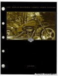 Official 2001 Harley Davidson FXDWG2 Parts Manual