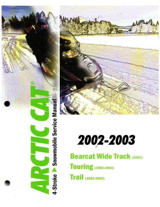 arctic cat 2 stroke snowmobile 2005 service repair manual