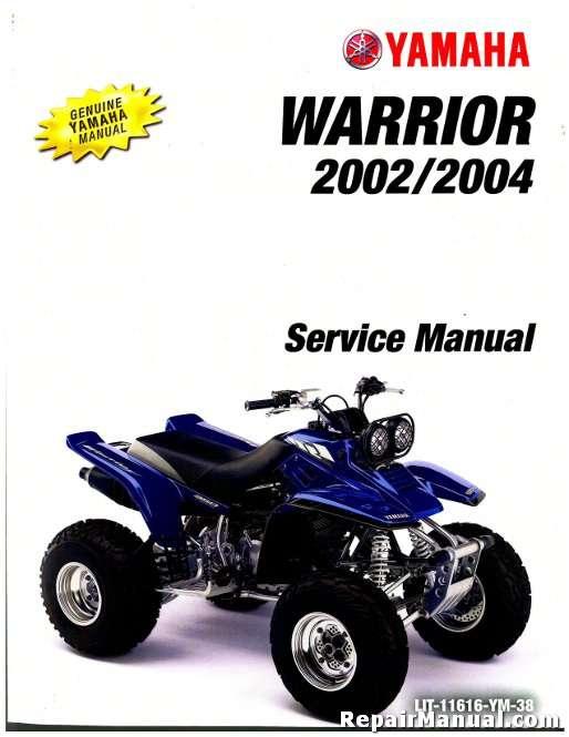 2002 2004 yamaha yfm350x warrior service manual. Black Bedroom Furniture Sets. Home Design Ideas