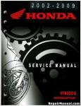 2002-2009 Honda VFR800 VFR800A Interceptor Motorcycle Service Manual