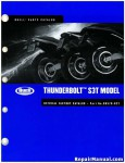 Official 2002 Buell S3 S3T Thunderbolt Parts Manual