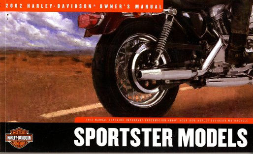 2002 Harley Davidson Sportster Motorcycle Owners Manual border=