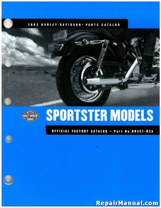 2002 harley davidson xl sportster motorcycle parts manual rh repairmanual com 2002 harley davidson sportster repair manual 2002 harley davidson sportster 1200 manual