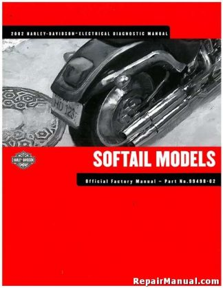Official 2002 Harley Softail Electrical Diagnostic Manual