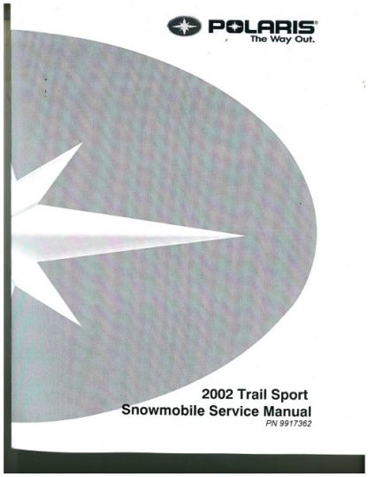 Official 2002 Polaris Indy 340 Deluxe Factory Service Manual