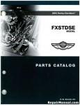 Official 2003 Harley Davidson FXSTDSE Parts Manual
