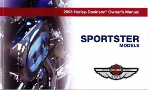 2003 Harley Davidson Sportster Motorcycle Owners Manual border=
