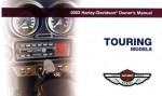 Official 2003 Harley Davidson Touring Owners Manual