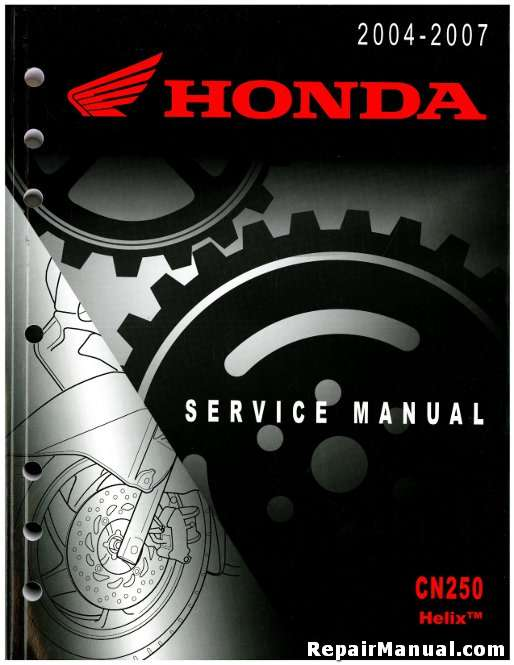 1996 Honda CN250 Helix Motorcycle Owners Manual 31KS4660