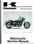 Official 2004-2008 Kawasaki VN1600B F Mean Streak Factory Service Manual