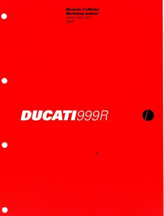 Official 2004 Ducati 999 R Factory Service Manual
