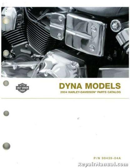 Official 2004 Harley Davidson Dyna Parts Manual
