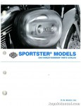 Official 2004 Harley Davidson XL Sportster Parts Manual