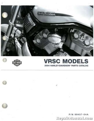 Official 2004 Harley Davidson VRSC Parts Manual