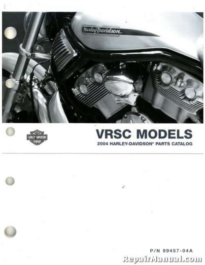 Official 2004 Harley Davidson VRSC Parts Manual