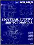 Official 2004 Polaris Edge Classic/Classic/Classic Edge Snowmobile Factory Service Manual
