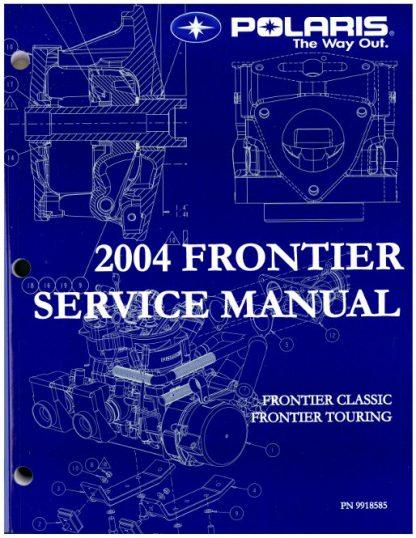 Official 2004 Polaris Frontier Snowmobile Factory Service Manual