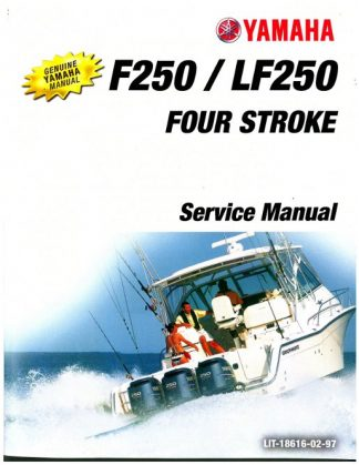 Official 2005-2006 Yamaha LF250 F250 Outboard Engine Factory Service Manual