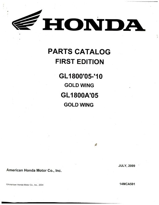 2003 honda goldwing repair manual