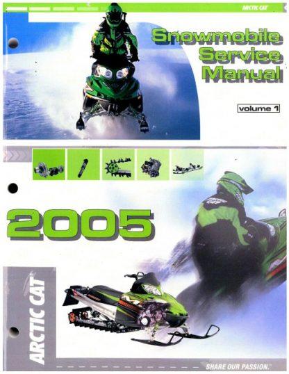 Official 2005 Arctic Cat Snowmobile Service Repair Manual Volume 1