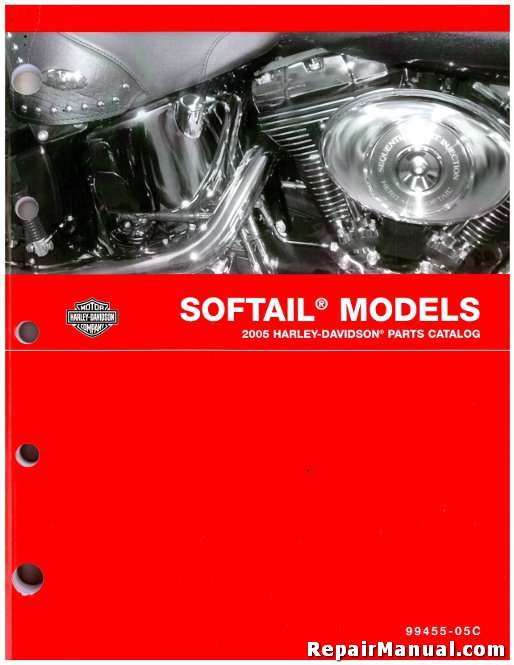 2005 Harley-Davidson Softail Motorcycle Parts Manual