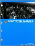 Official 2005 Harley Davidson XL Sportster Parts Manual
