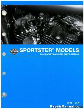Official 2005 Harley Davidson XL Sportster Parts Manual