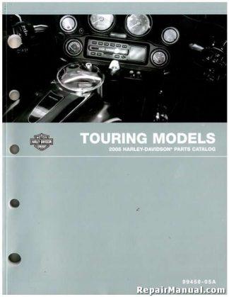Official 2005 Harley-Davidson Touring Parts Manual