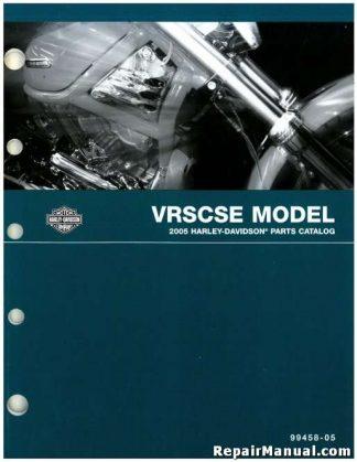 Official 2005 Harley Davidson VRSCSE Parts Manual