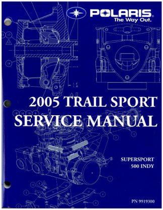 2005 Polaris Indy Supersport Edge Touring Snowmobile Service Manual