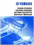 Official 2006-2012 Yamaha Vector RS900 And RS Venture RST900 Snowmobile Factory Service Manual