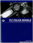 Official 2006 Harley Davidson FLT FLHPI FLHTPI Police Service Manual Supplement