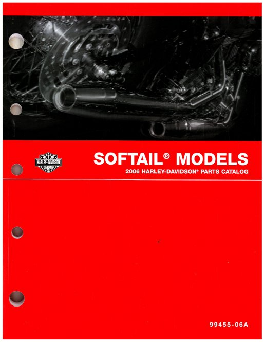 2006 Harley Davidson Softail Motorcycle Parts Manual