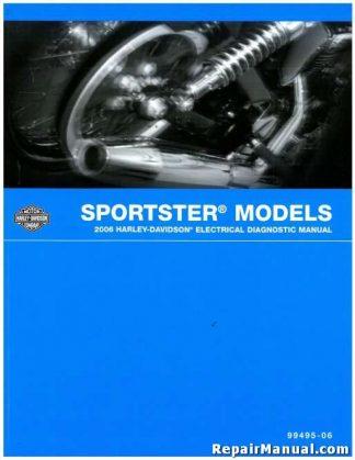Official 2006 Harley Davidson Sportster Electrical Diagnostic Manual