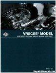 Official 2006 Harley Davidson VRSCSE2 Service Manual Supplement