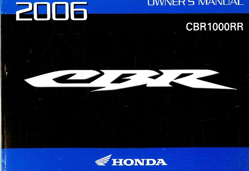 2006 cbr1000rr service manual