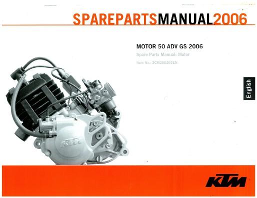 2006 ktm 50 adventure gs engine spare parts manual. Black Bedroom Furniture Sets. Home Design Ideas