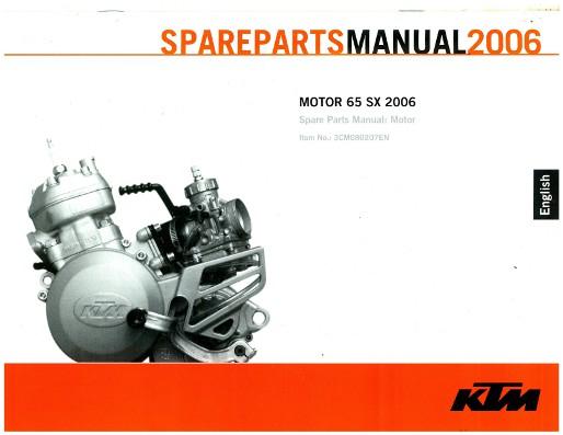 2006 ktm 65 sx engine spare parts manual. Black Bedroom Furniture Sets. Home Design Ideas