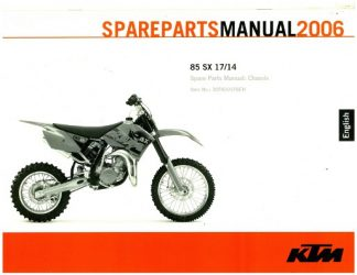 2004 ktm 85 sx service repair manualthis is the most complete.