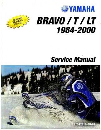 Official 1984-2000 2007-2009 And 2011 Yamaha Bravo BR250 Snowmobile Factory Service Manual